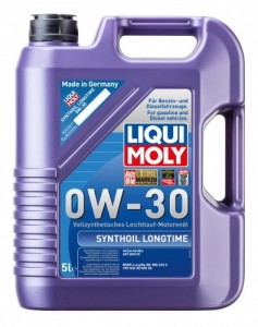 Synthoil Longtime 0W-30 5L BMW VW MERCEDES-BENZ